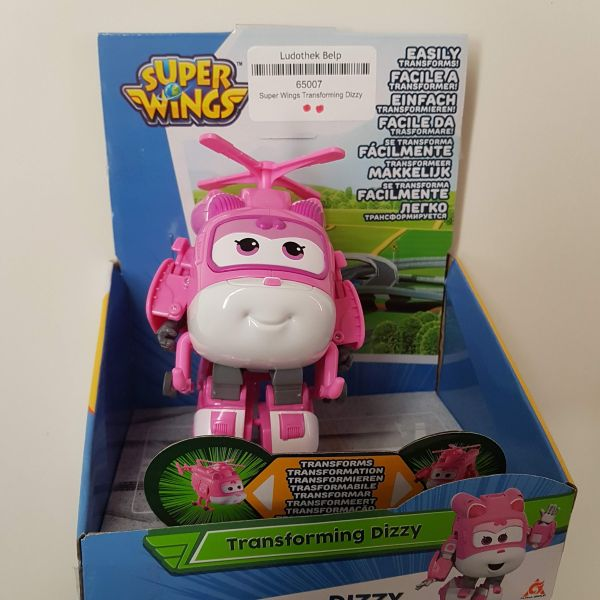 Super Wings Transforming Dizzy